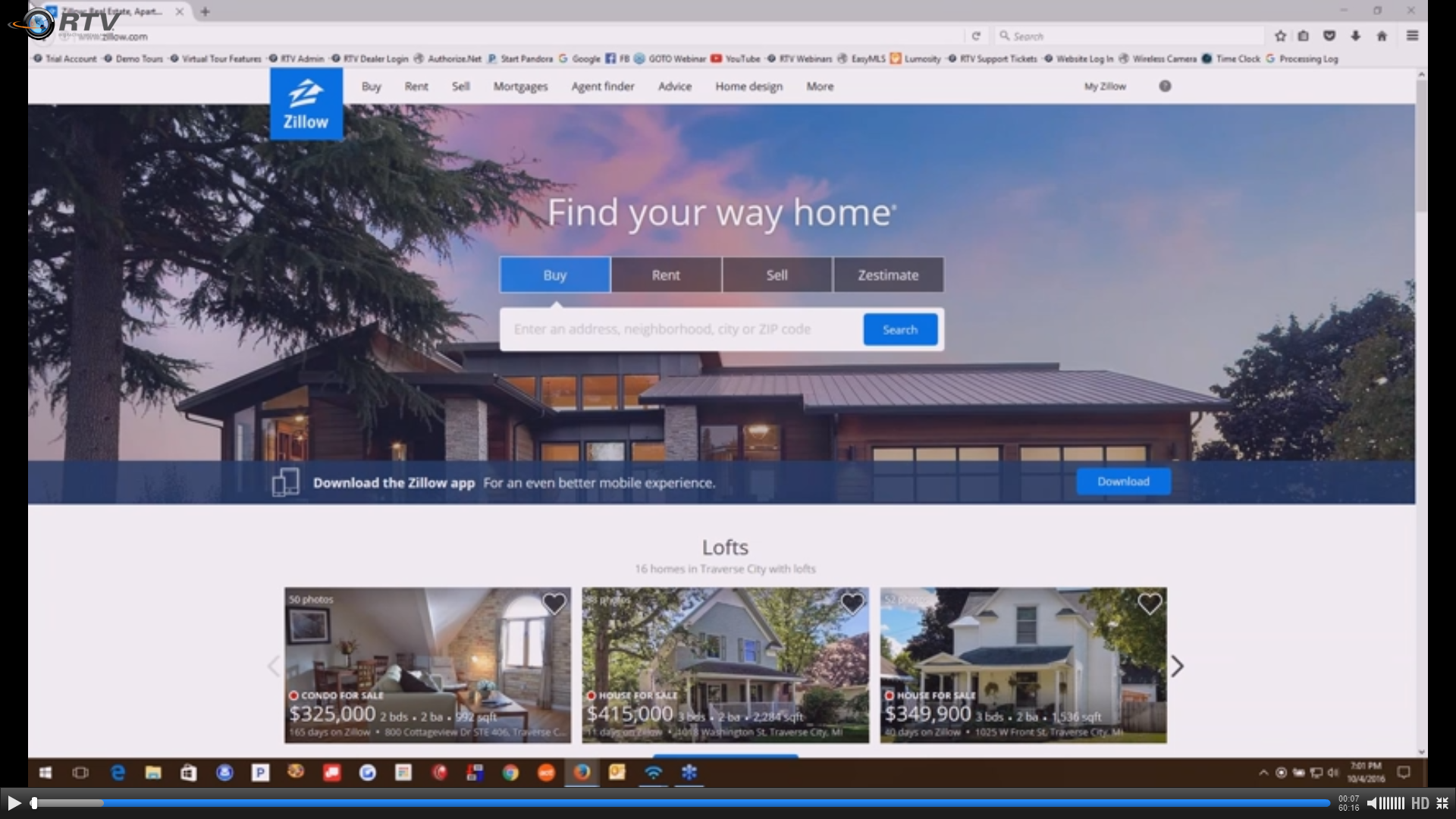Zillow Trusted Photographer Webinar