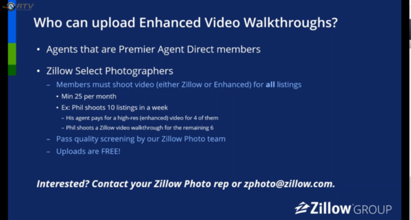 Zillow Approved Photographer