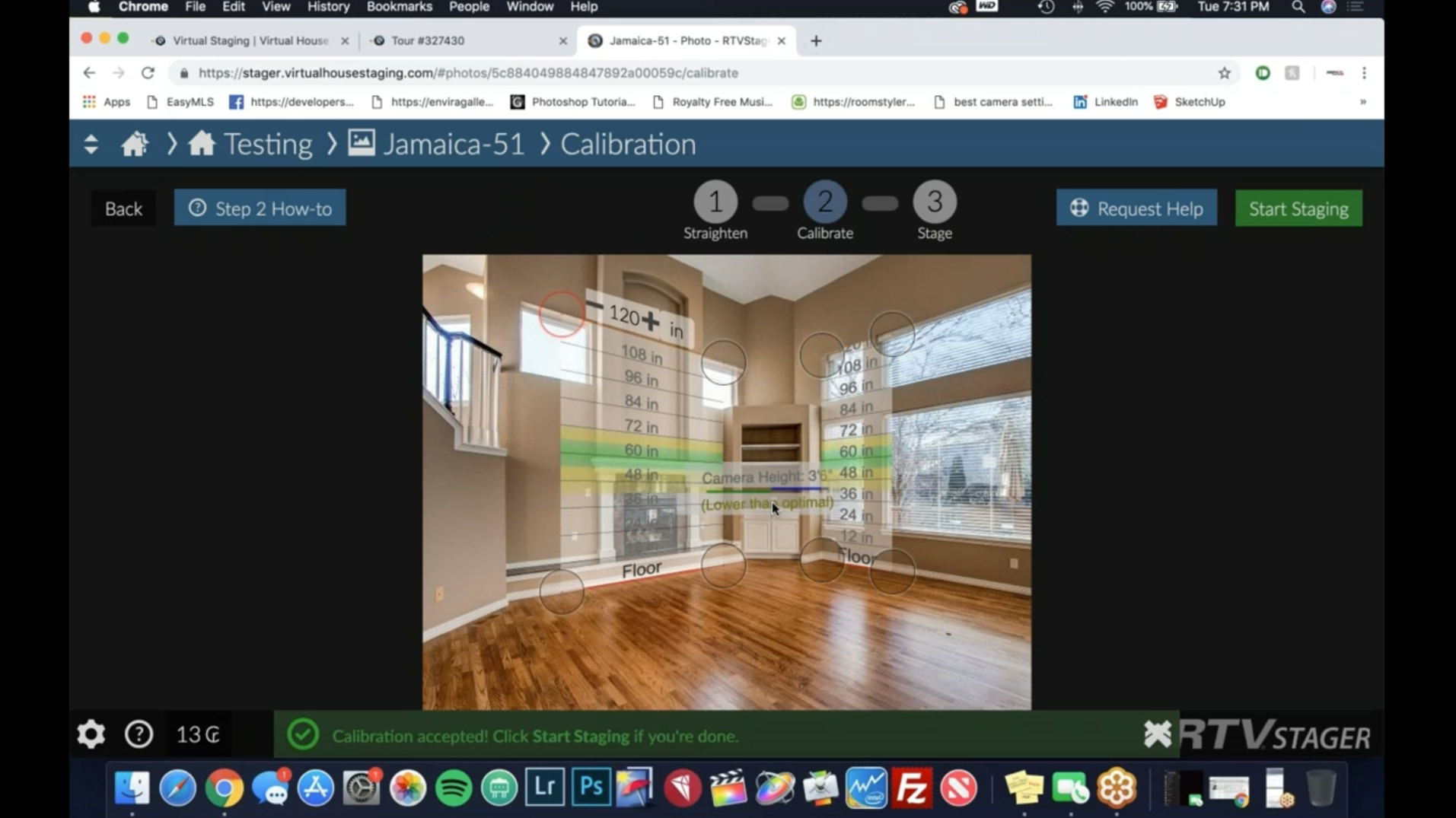 The FORMULA 84 – Virtual Staging with Tom